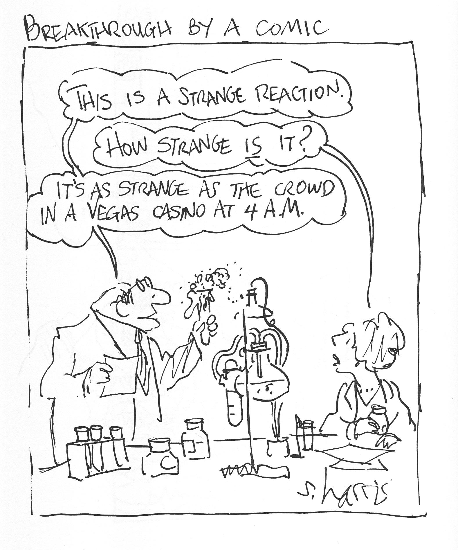 cartoon the scientist magazine
