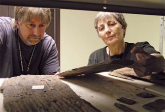 <figcaption>Frank Mannolini and Linda Hernick Credit: Courtesy of NYS Museum/Albert Gnidica</figcaption>