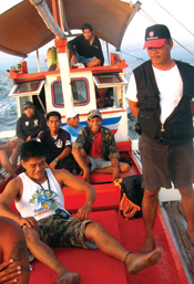 <figcaption>Fish wardens in Batangas. Credit: Courtesy of Jesiderio De Los Reyes</figcaption>