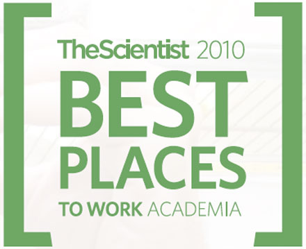 The Scientist Best Places to Work